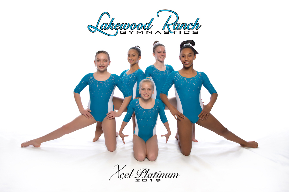 Lakewood Ranch Gymnastics Xcel Platinum