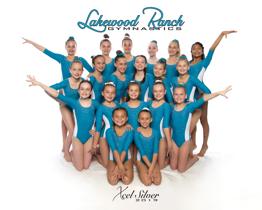 Lakewood Ranch Gymnastics Xcel Silver